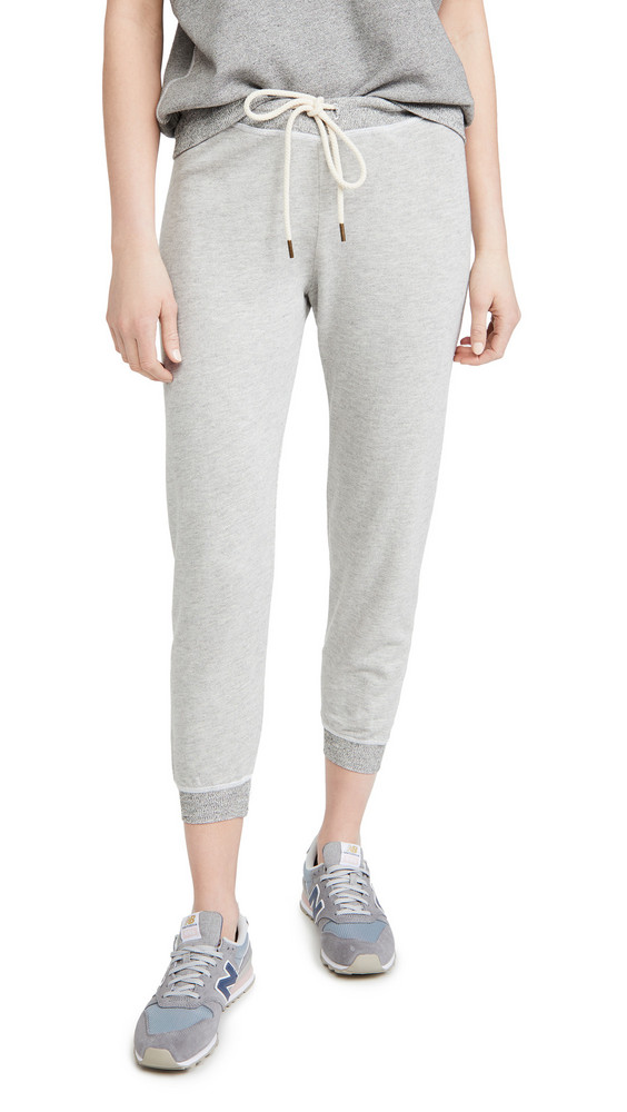 THE GREAT. THE GREAT. The Cropped Sweatpants in grey