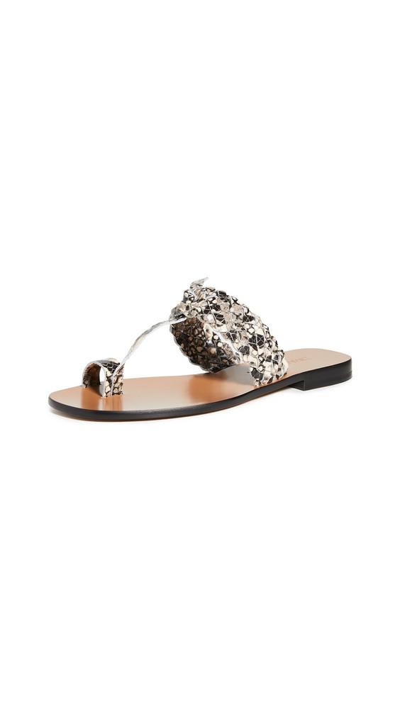 Zimmermann Braided Sandals in grey