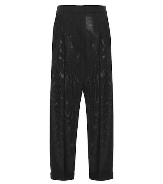 Jacquemus Le Pantalon A Revers high-rise pants in black
