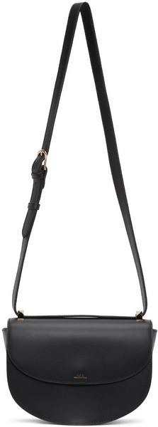 A.P.C. A.P.C. Black Genève Bag