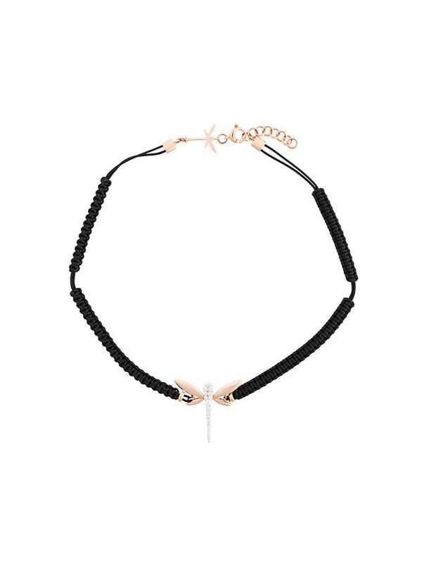 Anapsara dragonfly choker in black