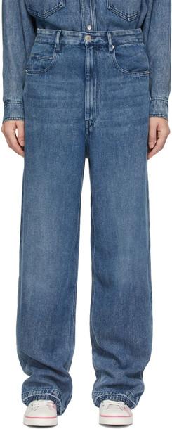 Isabel Marant Etoile Blue Tilorsy Jeans
