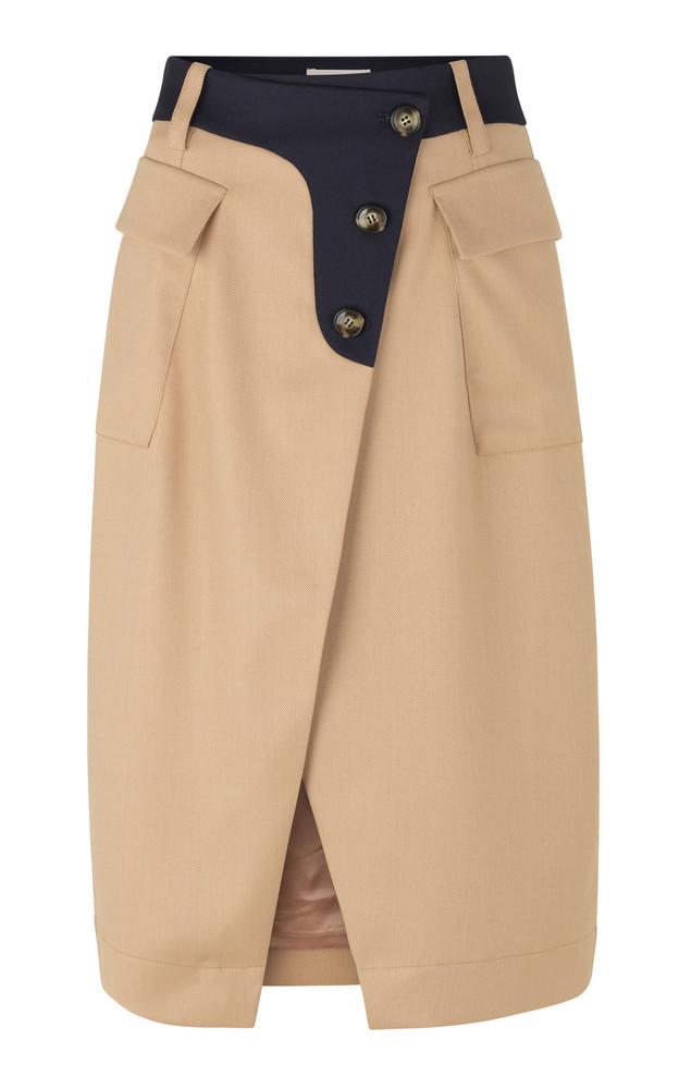 Baum und Pferdgarten Salvianne Two-Tone Cady Skirt in neutral