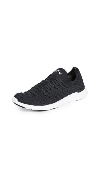 APL: Athletic Propulsion Labs Techloom Wave Sneakers in black / white