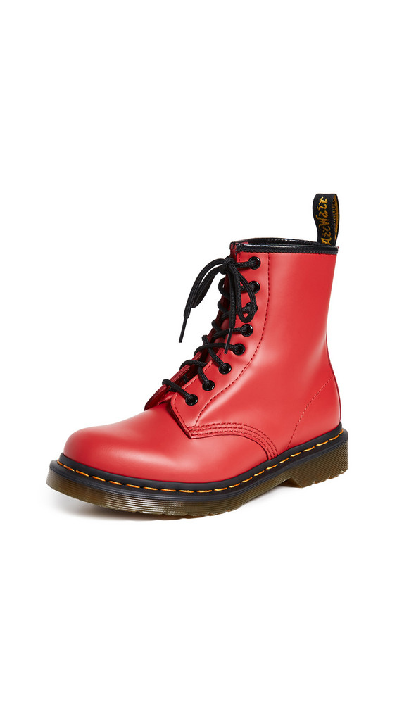 Dr. Martens 1460 8 Eye Boots in red
