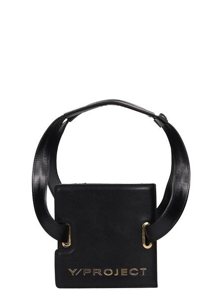 Y/Project Mini Accordion Bag in black