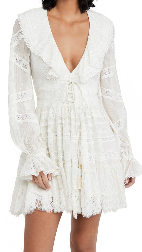 ROCOCO SAND Short Dress in white