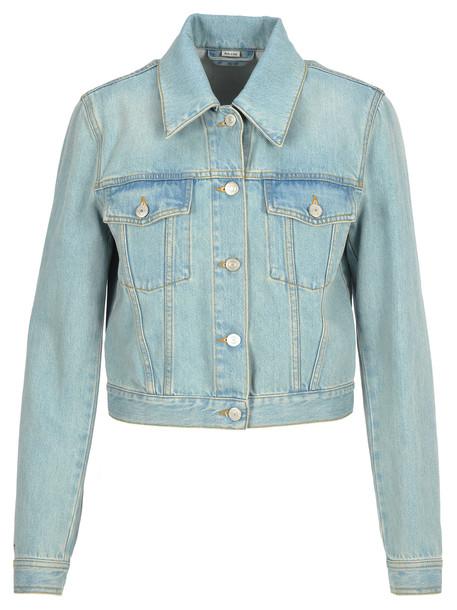 Gucci Gucci Embroidered Denim Jacket