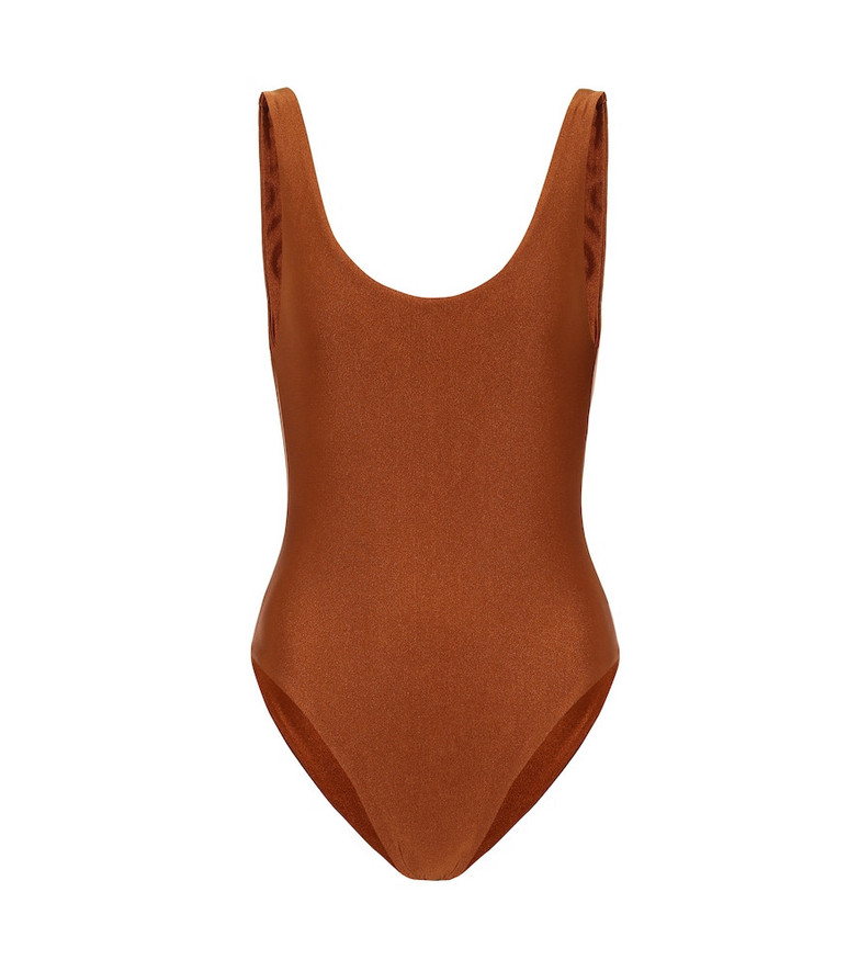 Jade Swim Exclusive to Mytheresa – Contour swimsuit in brown