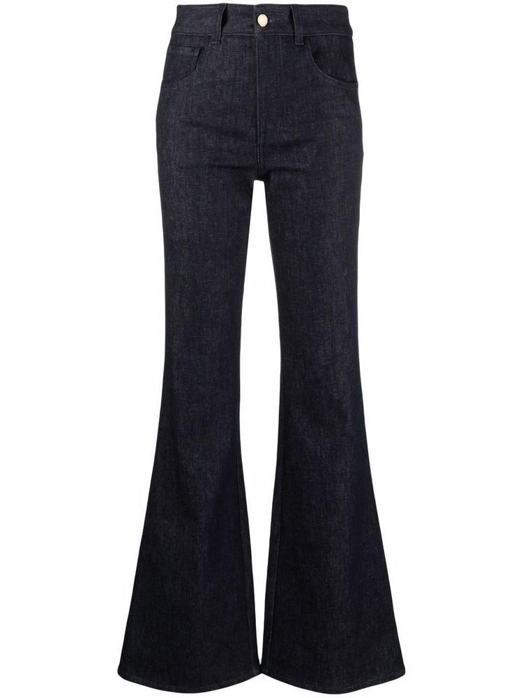 Chloé Chloé flared-leg jeans - Blue