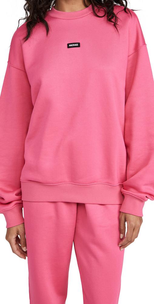 Mackage Justice Sweatshirt in fuchsia