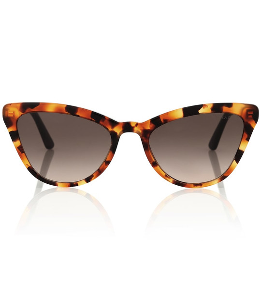 Prada Ultravox cat-eye sunglasses in brown