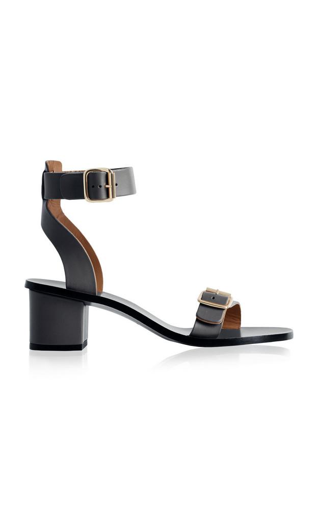 ATP Atelier Carmen Leather Sandals in black