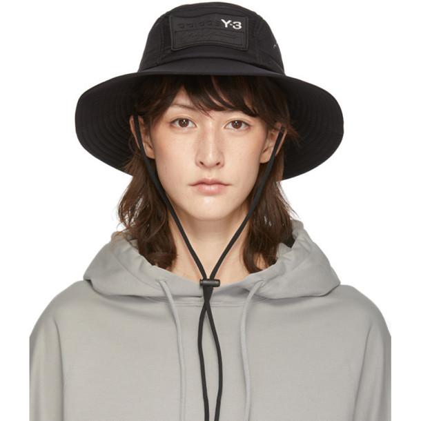 Y-3 Black Adizero hat