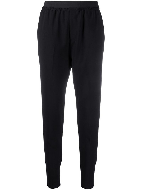 Undercover panelled tapered trousers in black