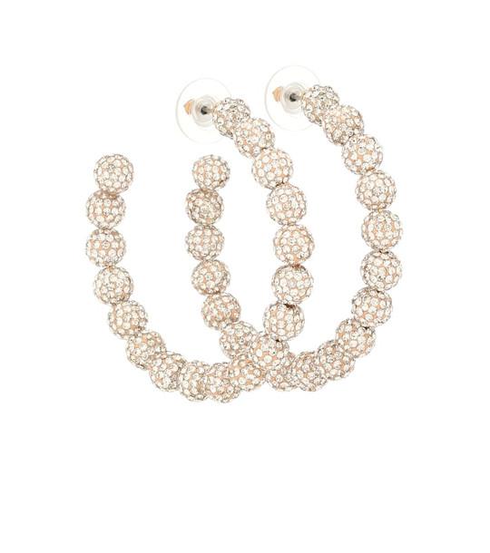 Lele Sadoughi Stardust crystal-embellished earrings in gold