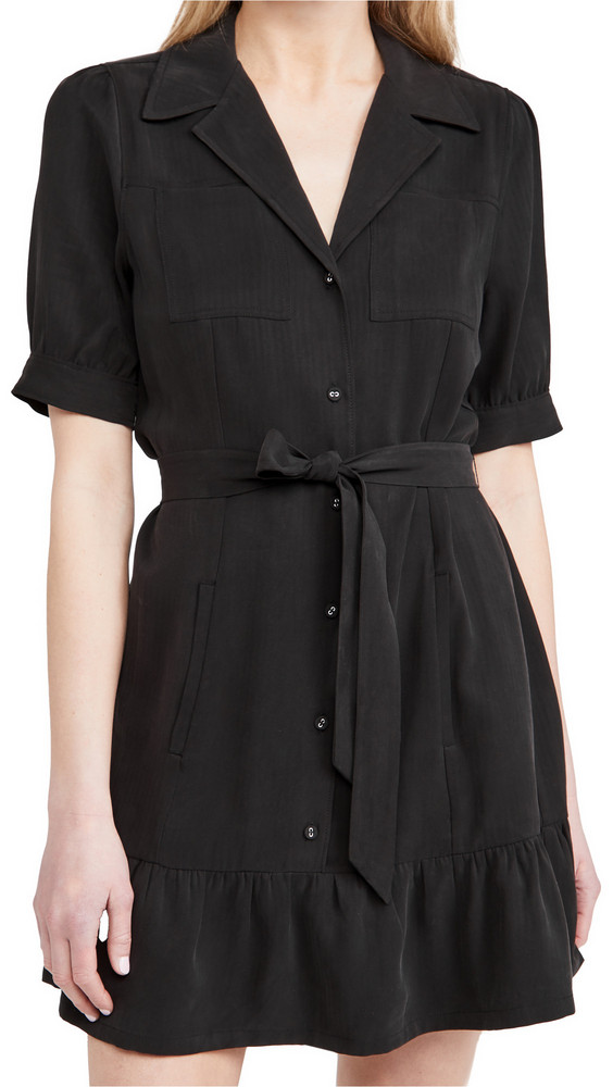PAIGE Mayslie Dress in black