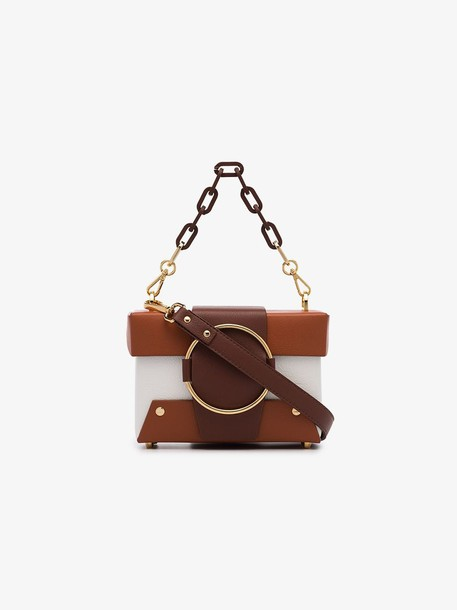 Yuzefi Brown Asher Crossbody Bag
