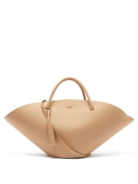 Jil Sander - Sombrero Medium Leather Tote Bag - Womens - Beige