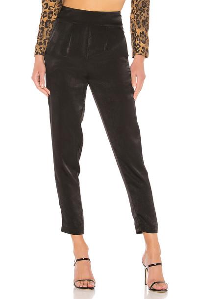 Lovers + Friends Glaze Pants in black
