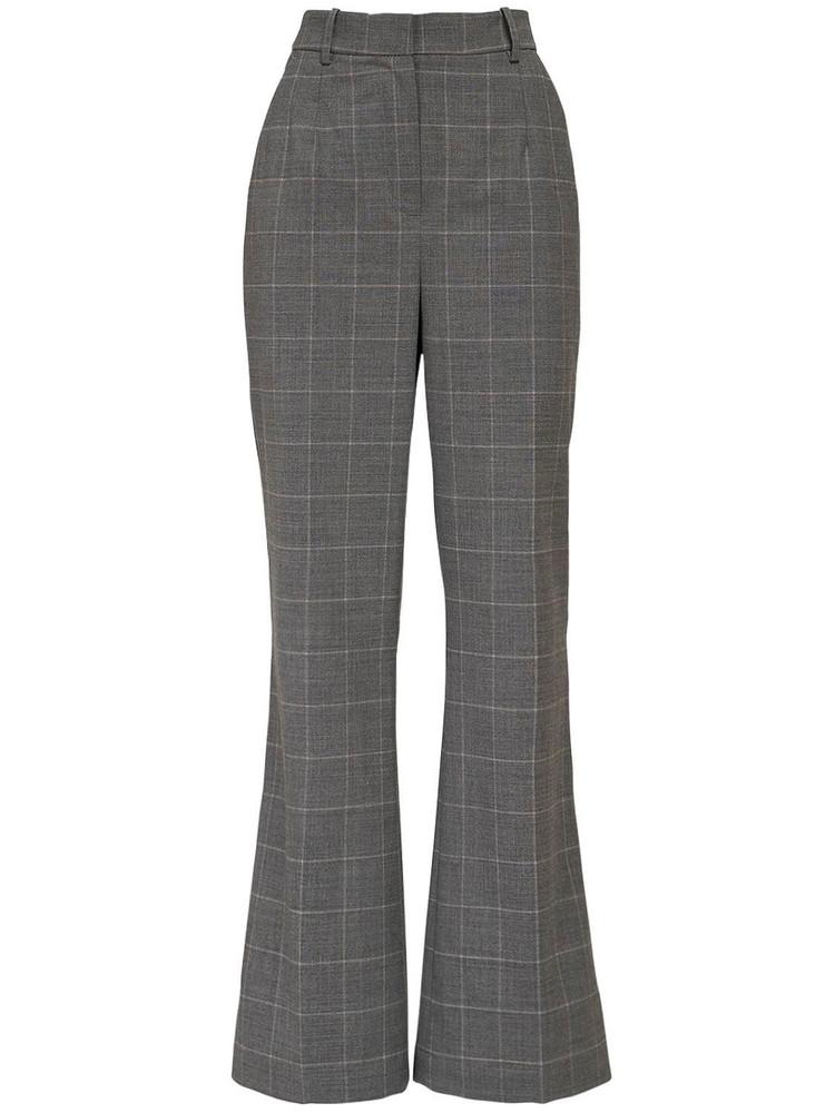 DESIGNERS REMIX Aja Flared Wool Blend Pants in grey