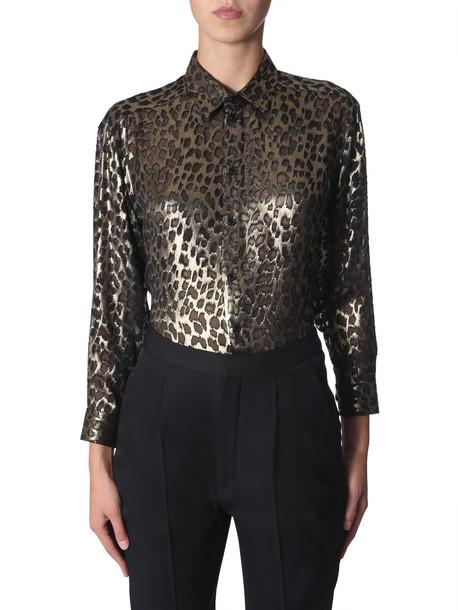 Saint Laurent Classic Shirt in nero