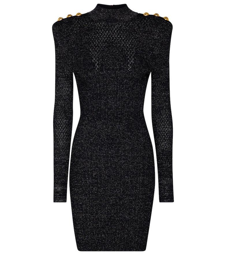 Balmain Bodycon minidress in black