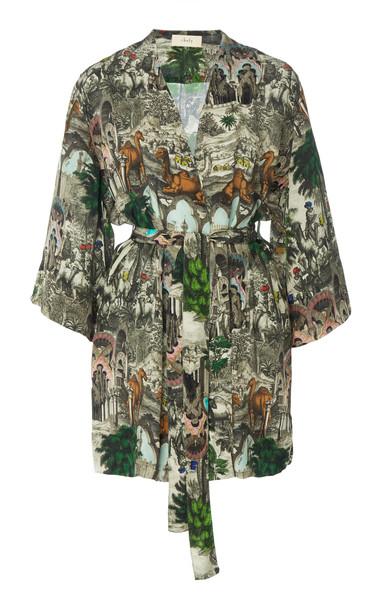 Chufy Jamal Mini Robe Dress Size: M in multi