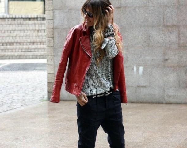 rebel attitude shirt jacket pants belt