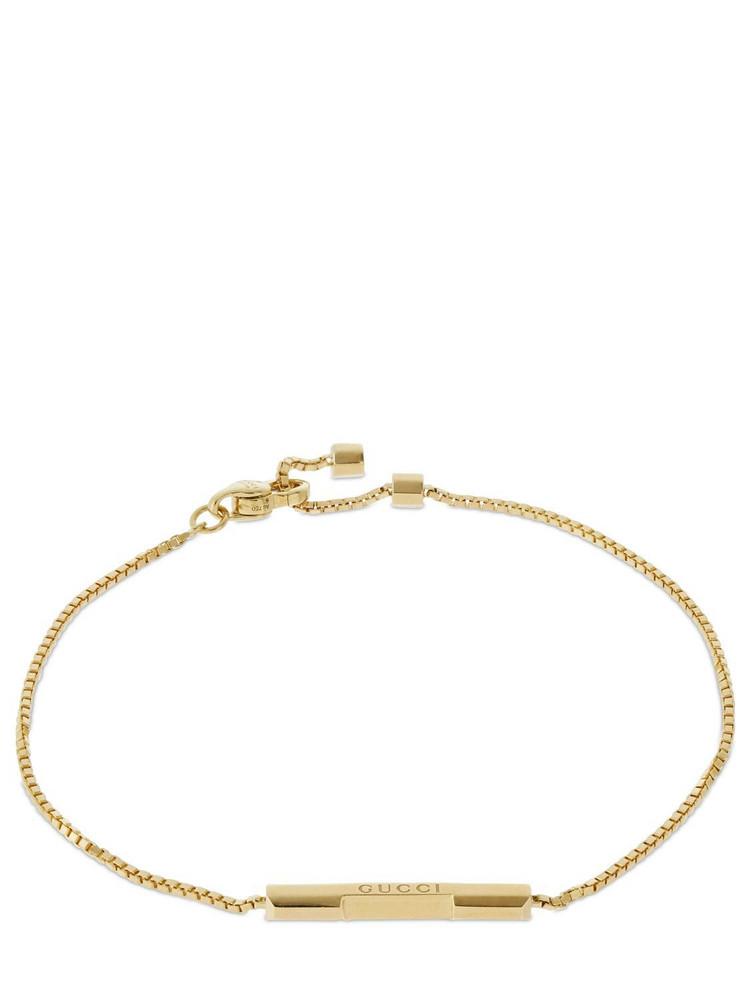 GUCCI 18kt Gold Link To Love Bracelet
