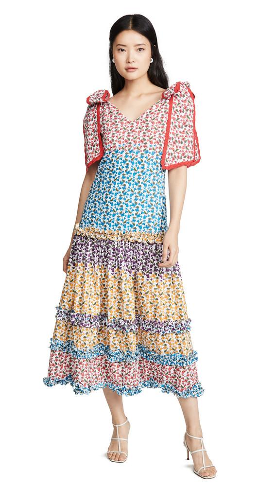 All Things Mochi Fabiana Dress in multi