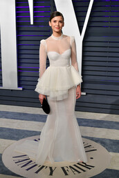 dress,gown,prom dress,wedding dress,red carpet dress,oscars,nina dobrev,celebrity