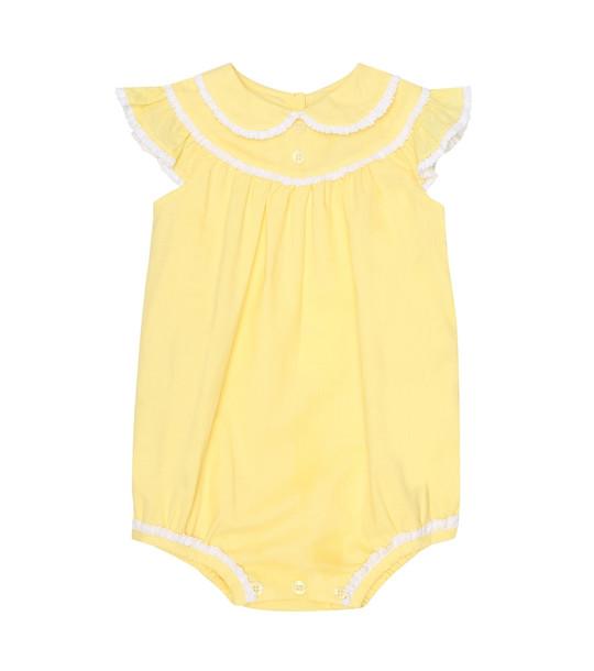 Rachel Riley Bubble cotton bodysuit in yellow