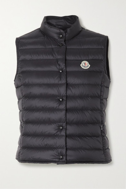 Moncler - Liane Quilted Shell Down Vest - Black