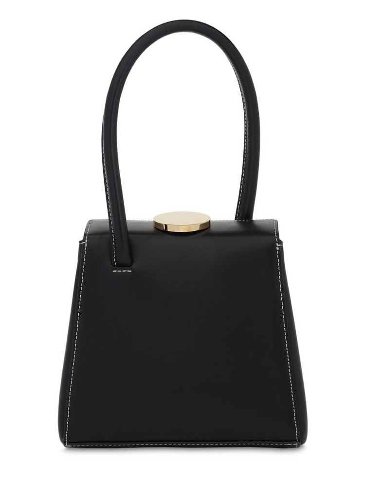 LITTLE LIFFNER Mademoiselle Leather Bag in black