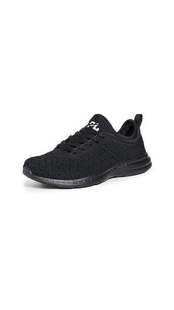 APL: Athletic Propulsion Labs TechLoom Phantom Sneakers in black / white