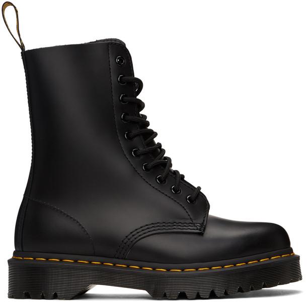 Dr. Martens Black 1490 Smooth Bex Boots