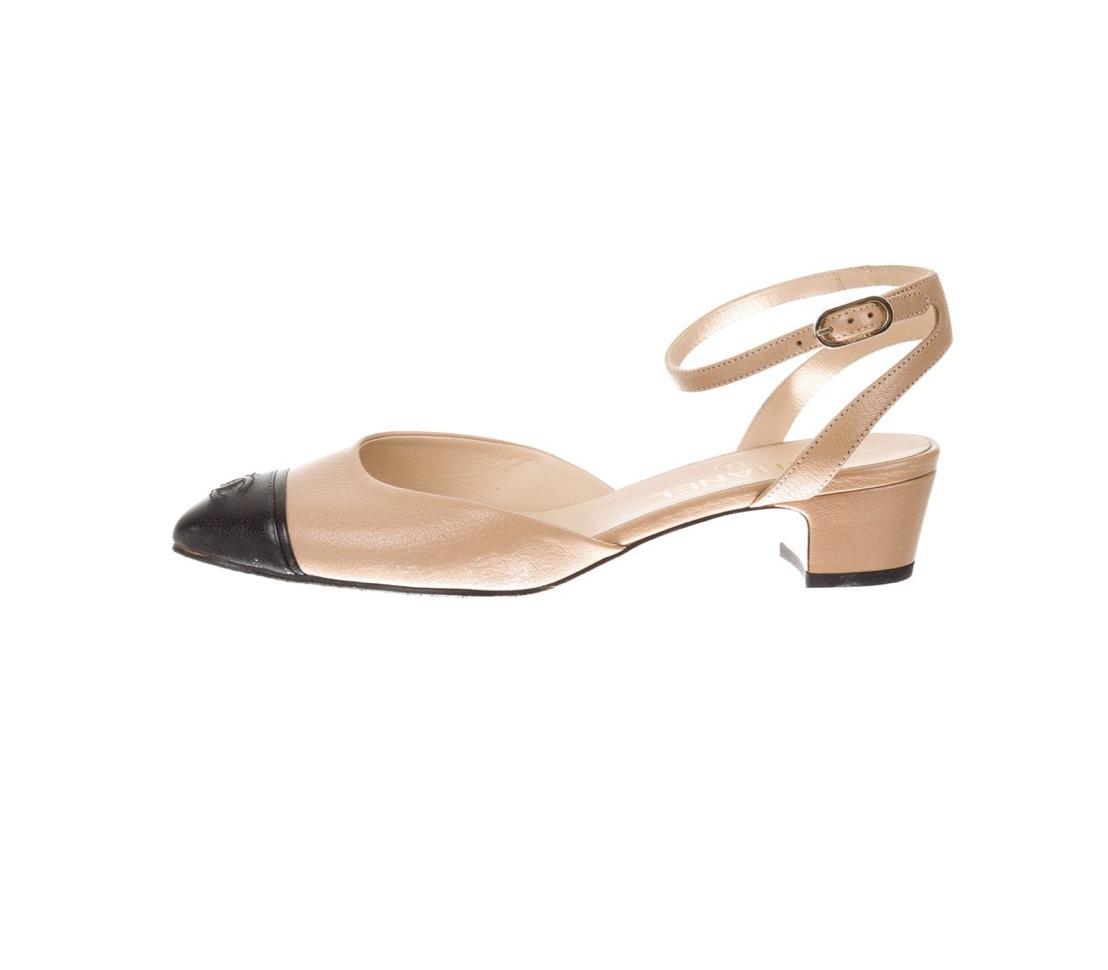 shoes chanelvintage chanel flats pumps cc
