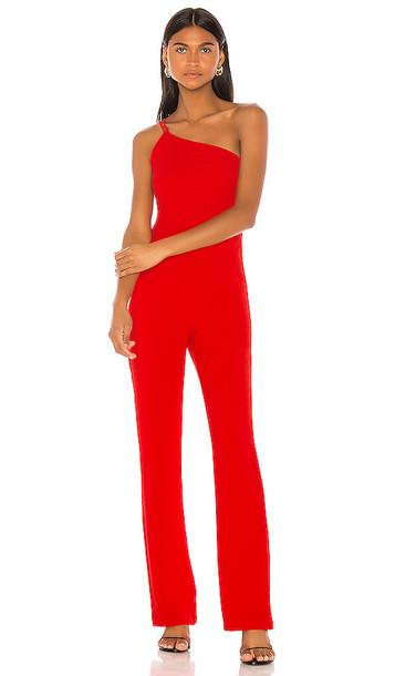 NBD Mariella Jumpsuit in Red