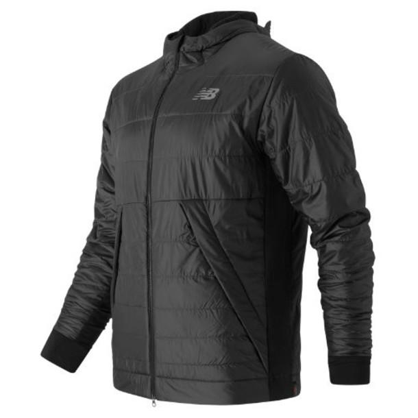 New Balance 63002 Men's NB Heat Hybrid Jacket - Black (MJ63002BK)