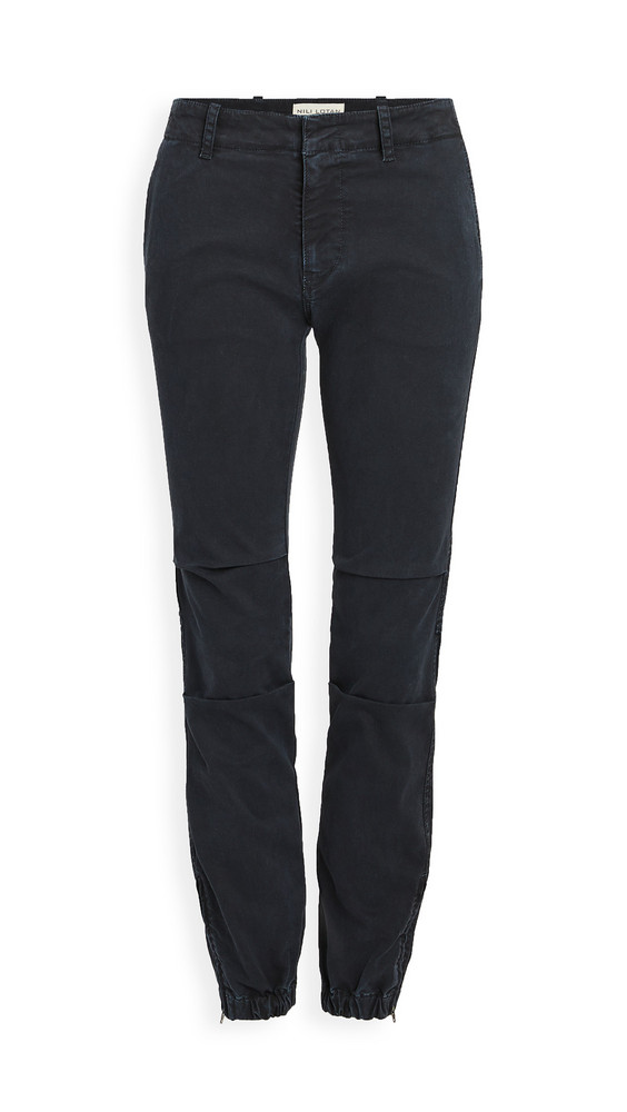 Nili Lotan French Military Pants in navy
