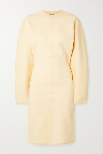 Acne Studios - Krysten Stretch-jersey Dress - Cream