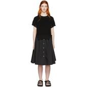 dress,black,knit