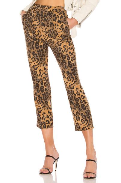 Lovers + Friends Knoll Pants in brown