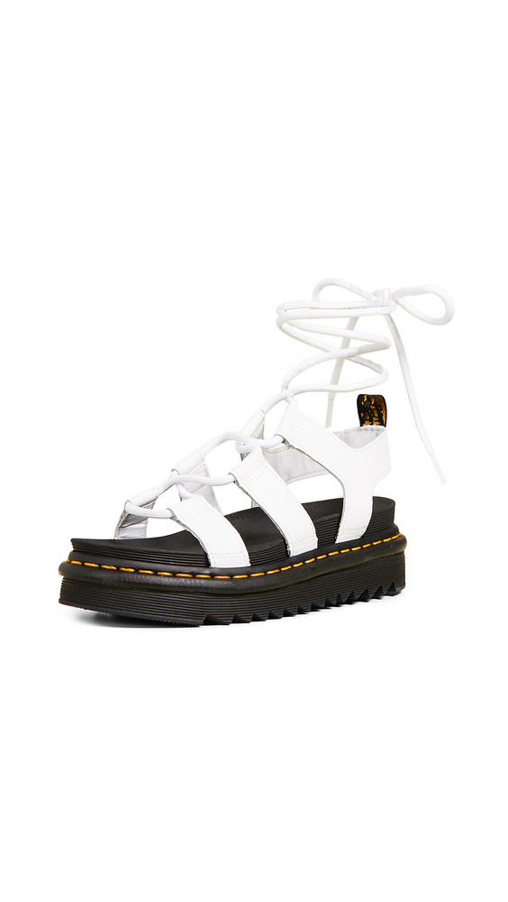 Dr. Martens Nartilla Sandals in white