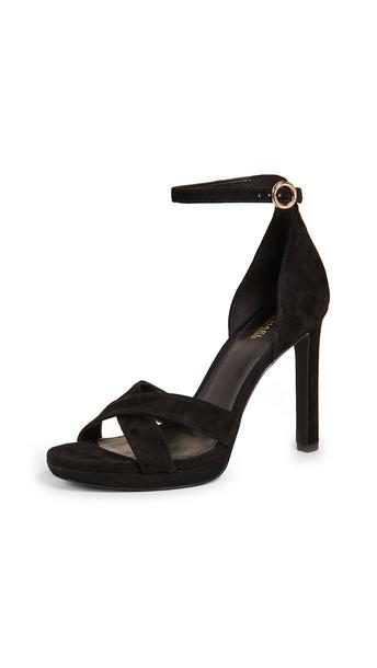 MICHAEL Michael Kors Alexia Ankle Strap Sandals in black