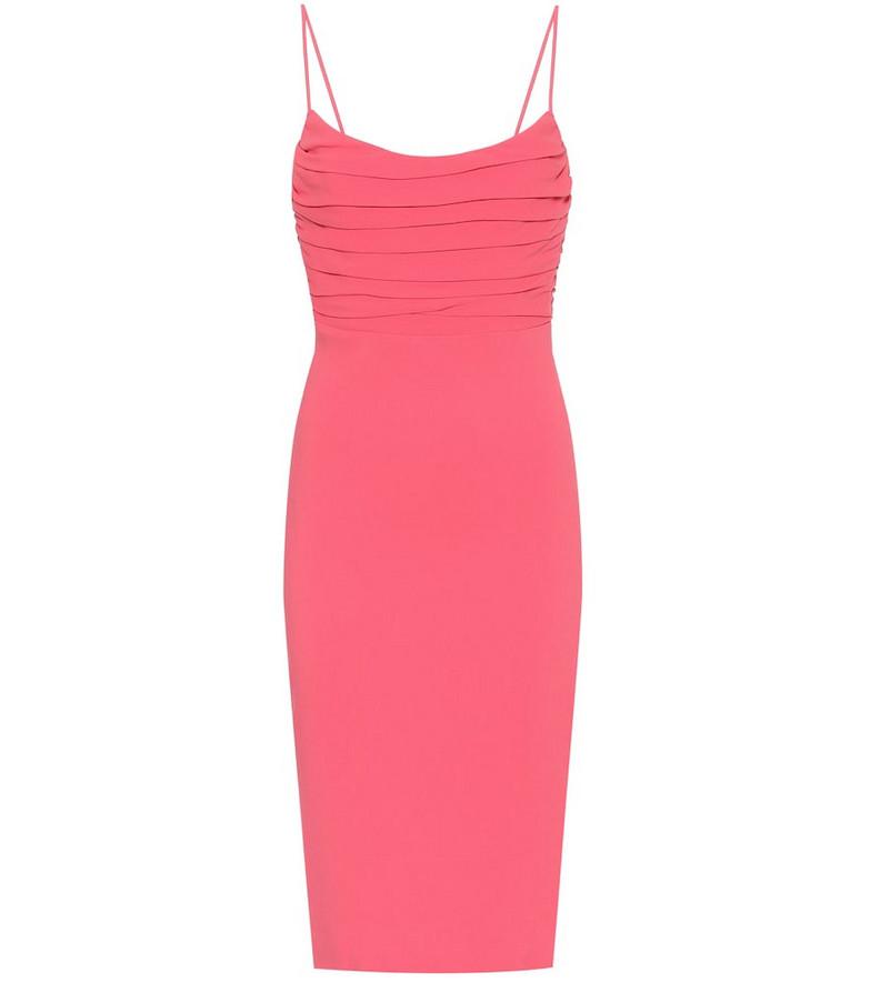 Roberto Cavalli Stretch-crêpe dress in pink