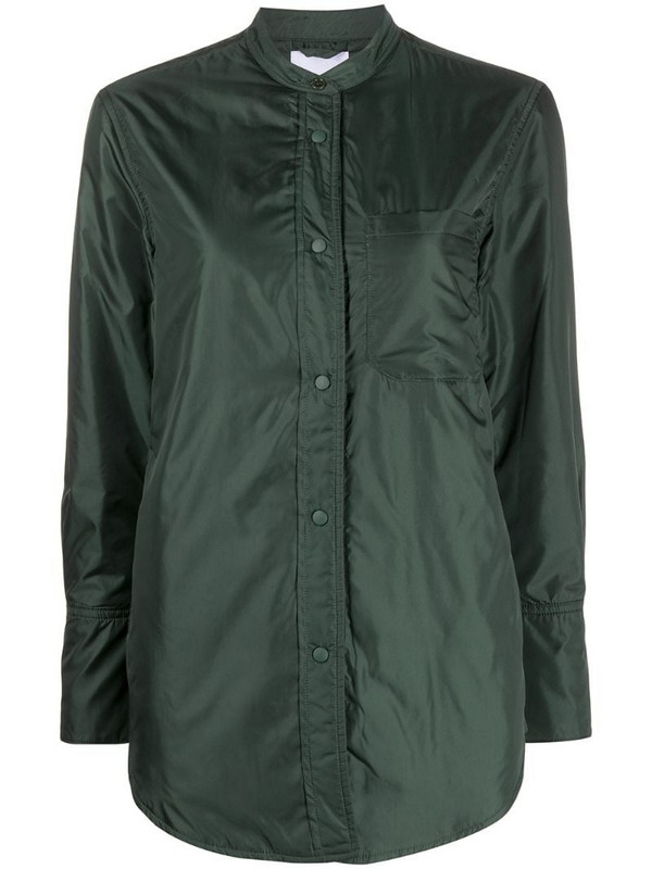 Aspesi padded shirt in green