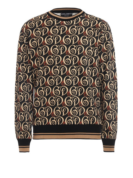 Dolce & Gabbana Sweatshirt Dg Liberty in grey