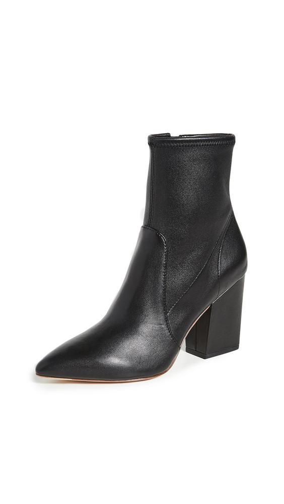 Loeffler Randall Isla Slim Ankle Booties in black